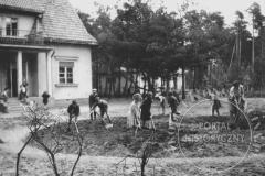 Harcerski Dom Dziecka Anusia (lata 40-te XX w., zbiory Andrzeja Sowińskiego)