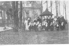 Dom ks. Boduena w Klarysewie (ok 1941 r)