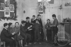 Nowy Rok w Domu Dziecka Bojowników o Wolność i Demokrację (1949 r, zbiory Witolda Rawskiego)