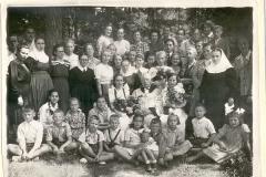 Zakład Opieki Wychowawczej Tabita - ok 1950 r (źródło: Parafia Ewangelicko-Augsburska)