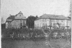 Budynki Metodystów w Klarysewie (1928 r - zbiory Witolda Rawskiego)