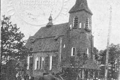 Poświęcenie gotowego kościoła w Konstancinie (1913 r, zbiory A.Zyszczyka)