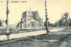 Kościół w Mirkowie (ok. 1910 r - zbiory Elżbiety Biały)
