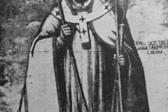 Słomczyn, obraz św. Wojciecha z 2 poł. XVII w (1962 r, zbiory A.Zyszczyka)