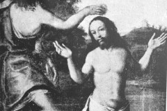 Mirków, obraz Crtu Chrystusa z XVII w (1962 r, zbiory A.Zyszczyka)