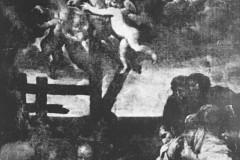 Słomczyn, obraz śmierci św. Franciszka Ksawerego - koniec XVII w lub pocz. XVIII (1962 r, zbiory A.Zyszczyka)