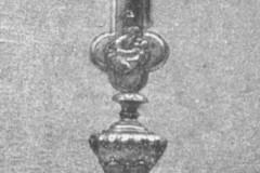 Słomczyn, relikwiarz św. Barbary z 2 poł. XVII w (1962 r, zbiory A.Zyszczyka)
