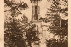 Kościół w Skolimowie (prawdopodobnie lata 20te XX w.)