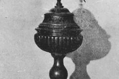 Słomczyn, Chrzcielnica z . XVIII / XIX w (1962 r, zbiory A.Zyszczyka)