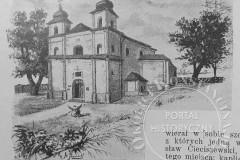Kościół w Słomczynie (1902 r, zbiory A. Zyszczyka)