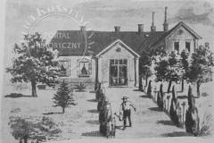 Plebania w Słomczynie (1902 r, zbiory A. Zyszczyka)