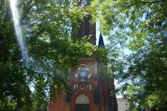 Kościół w Mirkowie, 2019, fot. B. Biedrzycki