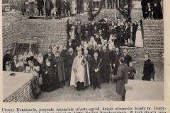 Poświęcenie kamienia węgielnego kościoła w Konstancinie