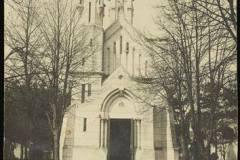 Kościół w Skolimowie, ok. 1910-20