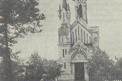 Kościół w Skolimowie, 1912