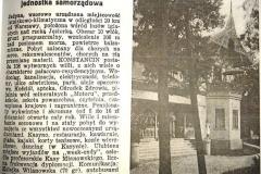 Reklama prasowa z początku XX wieku