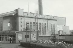 Warszawskie Zakłady Papiernicze - widok na portiernię, 1985 - źródło penetratorscavengerteam.blogspot.com