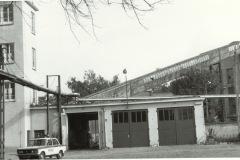 WZP - budynek i garaże Przyzakładowej Straży Pożarnej (lata 70-80) - źródło penetratorscavengerteam.blogspot.com