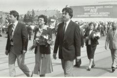 1 Maja w Warszawie  z udziałem załogi WZP (lata 70-te) - źródło penetratorscavengerteam.blogspot.com