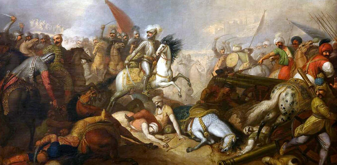 Bitwa pod Chocimiem, obraz Franciszka Smuglewicza