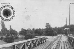 Most do parku w Konstancine, ok. 1910 r. (zbiory A.Zyszczyka)