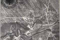 Zdjęcie lotnicze Jeziorki na wysokości Konstancina i Jeziorny, 1930 r. (zbiory A.Zyszczyka)