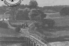 Jeziorna pod Warszawą, 1890 r.,  J. Owidzki