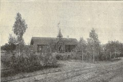 Stacja Konstancin w roku 1902. Brak jeszcze okolicznych willi.