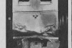 1914 r. Zderzenie pociągów na trasie kolejki.