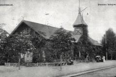 Lata dwudzieste XX wieku. Stacja Konstancin.