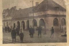 Stacja Wilanów, lata trzydzieste XX wieku.