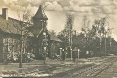 Lata trzydzieste XX wieku. Stacja Konstancin.