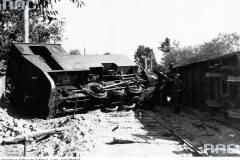 1935. Wypadek w Powsinie.