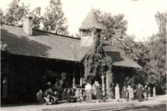 1936, stacja Konstancin. Fot. Z. Chomętowska, zb. WMK.
