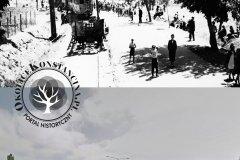 1939. Wypadek pod Powsinem. To samo mejsce obecnie.