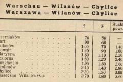 Cennik z 1941 r.