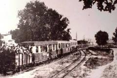 1943, kolejka w Wilanowie.