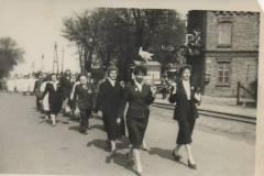 Warszawska w Jeziornie, lata pięćdziesiąte XX w. Zb. A. Zyszczyka.