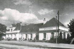 lata pięćdziesiąte, Stacja Wilanów.