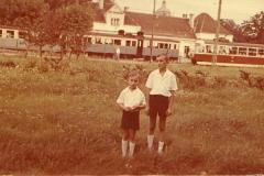 1971r, ostatnie lato przed rozbiórką kolejki. Źr. facebook, zb. I. Desperat.