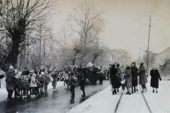 1965, pogrzeb w Powsinie, Zb. L. Młotka.