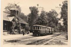 1941 r, stacja Konstancin. Źródło: e-bay.