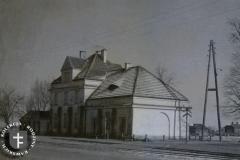 Stacja Klarysew 1947 r (zbiory W.Rawskiego)