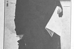 Inżynier Wiesław Nieciągiewicz główny kierownik pogotowia wodnego, przez cztery doby bez przerwy stał na czele walczących z Wisłą oddziałów (Tygodnik Ilustrowany 25.11.1928 - ze zbiorów Adama Zyszczyka)