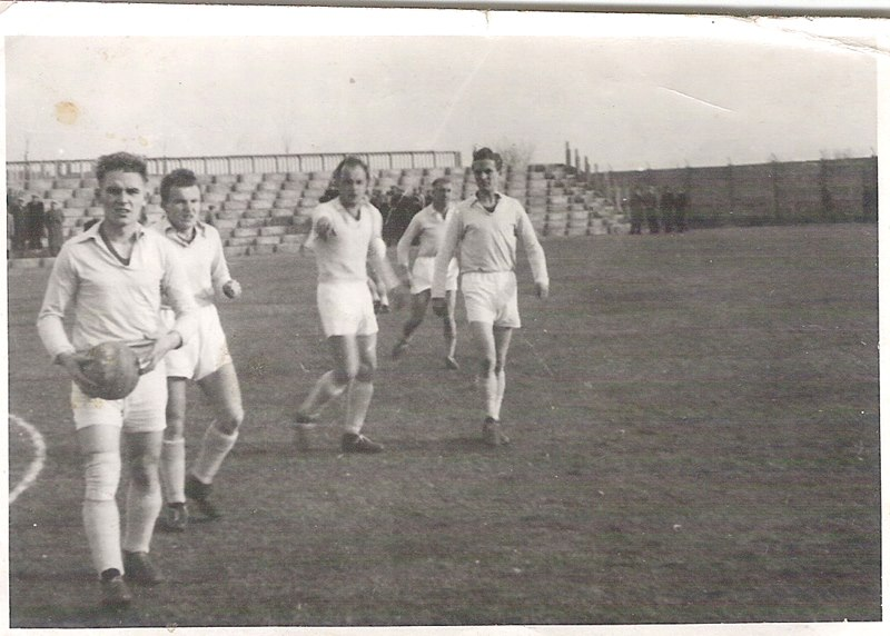 RKS Mirków (zdjęcie udostępnił pan Andrzej Makulski)  lata 60-70