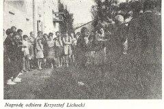 spartakiada zakładowa w Jeziornie 1962r