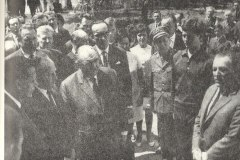 wmurowanie aktu erekcyjnego pod budowę basenu (lipiec 1972r)