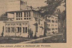 Tabita 1932 r. (Wiadomości Literackie)