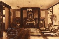 Pierwsza kaplica w nowym domu diakonis Tabita 1931 (zbiory A.Zyszczyka)
