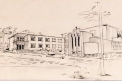 Projekt rozbudowy Tabity 1933 (zbiory Muzeum Architektury we Wrocławiu)